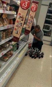 Some, more than others, are taking the 'Share a Coke' a little too far. Don't worry Barry, your name is in there somewhere.