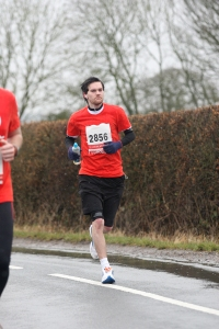 Warwick Half Marathon - March 16th 2013.