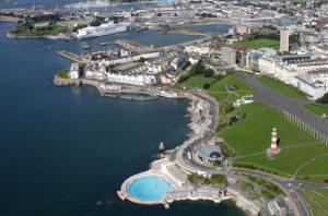 Plymouth, England.